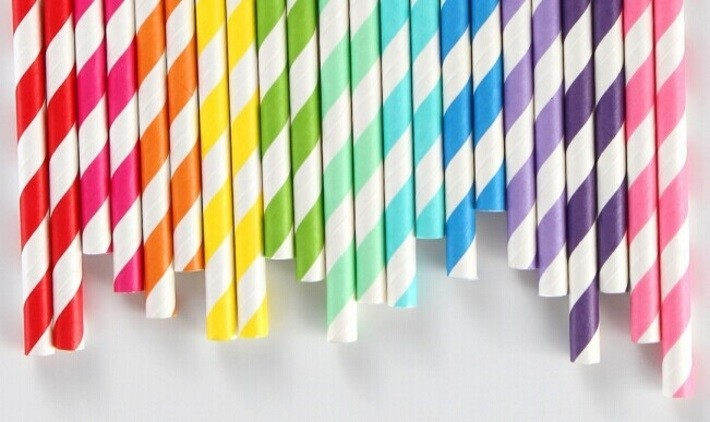 Biodegradable plastic straws